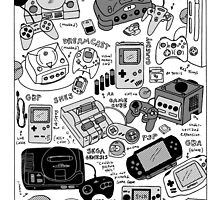 Some Consoles by GregFarrell