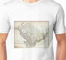 Vintage Map of Washington D.C. (1794) Unisex T-Shirt