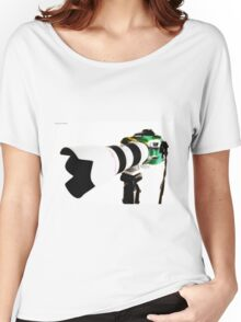 Canon 70d 01 Women's Relaxed Fit T-Shirt