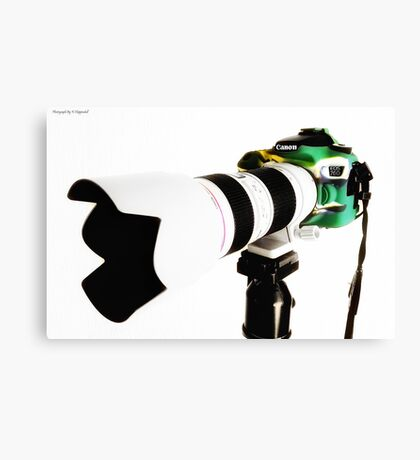 Canon 70d 01 Canvas Print