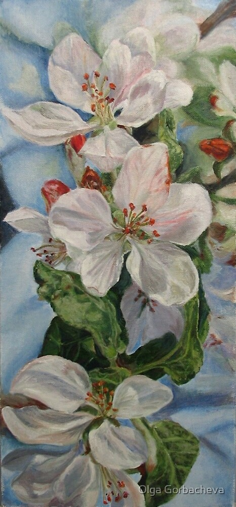 Apple Blossom by Olga Gorbacheva