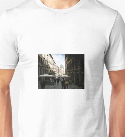 Madrid- Calle de 7 Julio Unisex T-Shirt