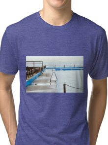 Swimming Lanes Tri-blend T-Shirt