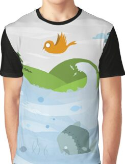 Nature with its habitants Graphic T-Shirt
