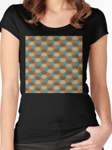 Infinite Geometry Women's Fitted Scoop T-Shirt