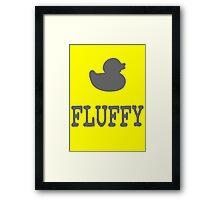 Fluffy Duck Framed Print