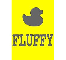 Fluffy Duck Photographic Print