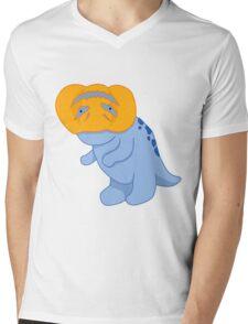 Halloween Quaggan Pumpkin  Mens V-Neck T-Shirt