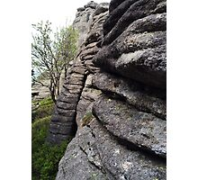 Rocky Layers - Nature Photography Photographic Print