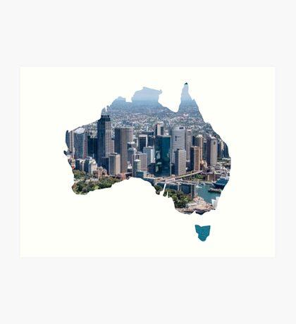 Australia Art Print
