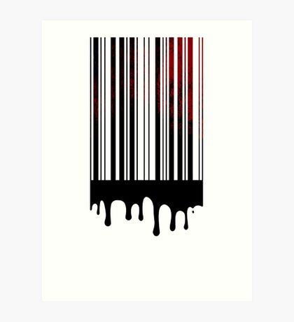bloodcode Art Print
