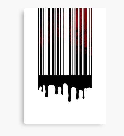 bloodcode Canvas Print