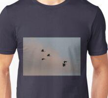 Cockatoos At Sunset Unisex T-Shirt