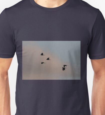 Cockatoos At Sunset Unisex T-Shirt