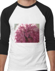 Pink Elephant Tree Men's Baseball ¾ T-Shirt