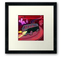 Magical Mystery Ride Framed Print