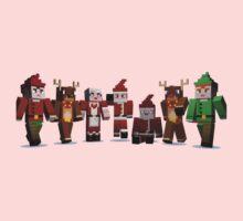 Merry Xmas from MINE One Piece - Short Sleeve
