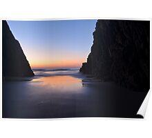 cave sunrise. Poster