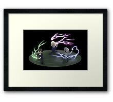 History Makers Framed Print