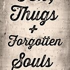 tex, thugs and forgotten souls + by vinpez