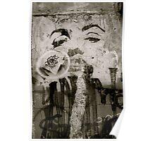 Marylin Monroe Graffiti Poster