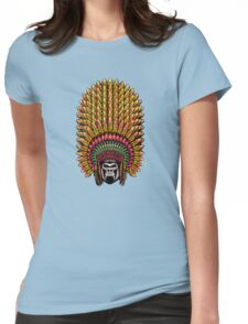 Gorilla Indian Womens Fitted T-Shirt