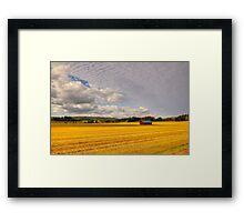 Red Barn Framed Print