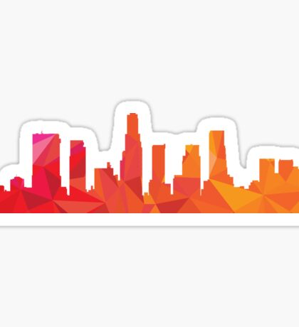 Los Angeles skyline  Sticker