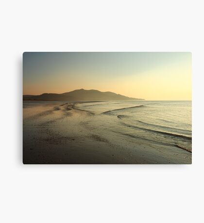 Lisfannon Beach Sunset Canvas Print