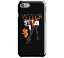 Halloween Witch Pin-up iPhone Case/Skin