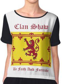 Shaw - Scottish Clan Chiffon Top