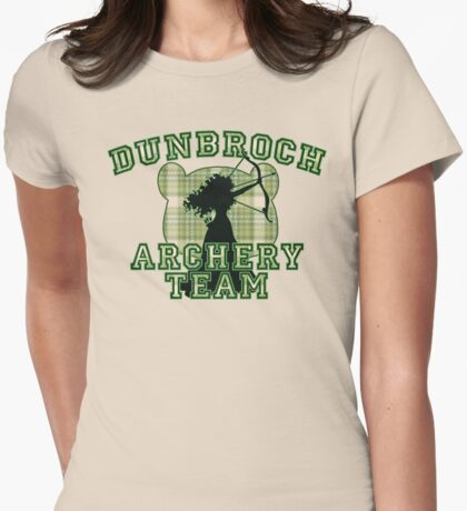 DunBroch Archery Team Womens Fitted T-Shirt