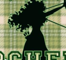 DunBroch Archery Team Sticker
