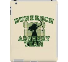 DunBroch Archery Team iPad Case/Skin
