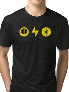 Star Wars Battlefront Xbox Playstation Powerups Yellow Tri-blend T-Shirt