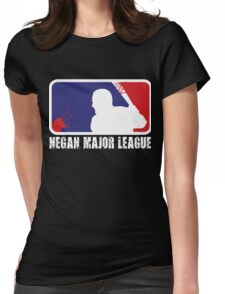 Negan Volleyball Womens Fitted T-Shirt