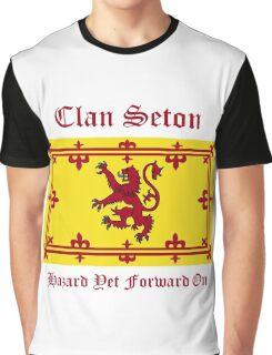 Seton - Scottish Clan Graphic T-Shirt