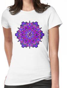 Om Mandala Womens Fitted T-Shirt