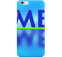 Me reflection iPhone Case/Skin