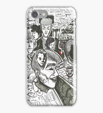 this one's for you, miss W! iPhone Case/Skin