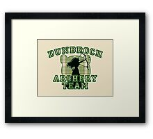 DunBroch Archery Team Framed Print