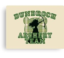DunBroch Archery Team Canvas Print