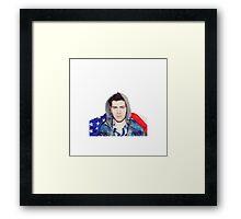 Hoodie Allen Framed Print
