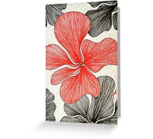 Nymbis in Red Greeting Card