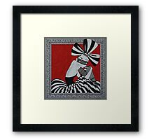 for I have sworn thee fair and bright   Framed Print