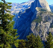 Half Dome From Above by John Hearne