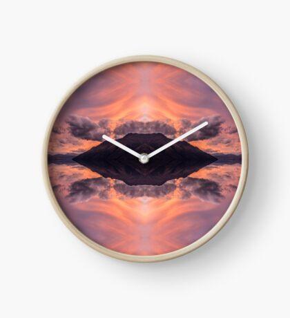 Above As Is Below Clock