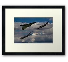 Avro 3Sisters Framed Print
