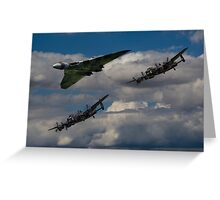 Avro 3Sisters Greeting Card