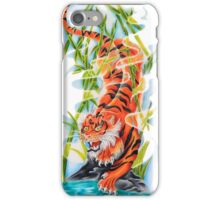 Tiger in the Mist iPhone Case/Skin